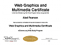 Web Graphics and Multimedia Certificate